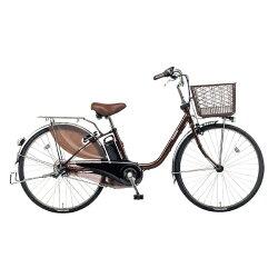 【送料無料】パナソニック24型電動アシスト自転車ビビ・DX(チョコブラウン/内装3段変速)BE-ELD433T【2017年モデル】【配送】【メーカー直送・・時間指定・返品】