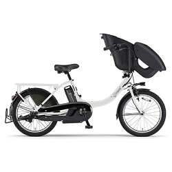 【送料無料】 ヤマハ 20型 電動アシスト自転車 PAS Kiss mini un(ピュアパールホワイト/内装3段変速) PA20KXL【2017年モデル】【組立商品につき返品】 【配送】