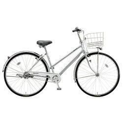 【送料無料】ブリヂストン27型自転車キャスロングスタンダード・S型(M.ブリリアントシルバー/3段変速)CSS73P【2017年モデル】【配送】