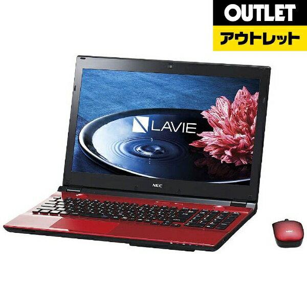 【送料無料】 NEC 限定3台【アウトレット品】15.6型ノートPC[Office付き・Win…
