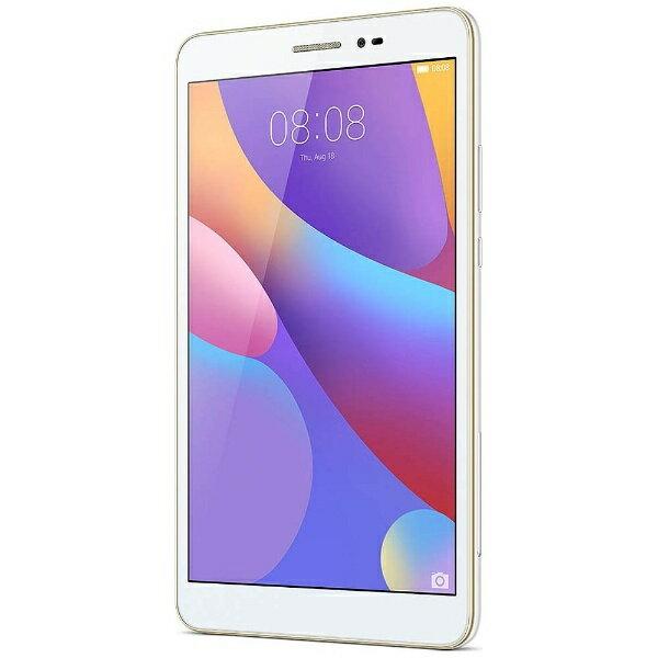 【送料無料】 HUAWEI Android 6.0タブレット[8型・MSM8939・ストレージ 16GB・メモリ 2GB・Wi-Fiモデル] MEDIAPAD T2 8.0 Pro ホワイト T2 8.0/JDN-W09 (2016年12月モデル)
