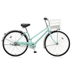 【送料無料】 ブリヂストン BRIDGESTONE 26型 自転車 スクリッジ S(E.Xミストグリーン/シングルシフト) SRS60T【2017年/点灯虫モデル】【組立商品につき返品】 【配送】