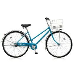 【送料無料】ブリヂストン27型自転車スクリッジS(E.Xエスニックターコイズ/内装3段変速)SRS73T【2017年/点灯虫モデル】【配送】