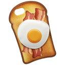 サンクレスト SUNCREST iPhone 7用 CHARACTERS アメリカンデリシリーズ 目玉焼きトースト iP7-CH08