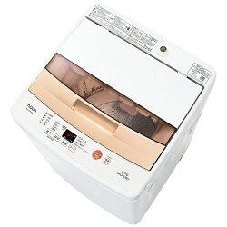 【2017年01月下旬発売】【標準設置費込み】AQUA全自動洗濯機(洗濯5.0kg)AQW-BK50E-Wホワイト【ビックカメラグループオリジナル】