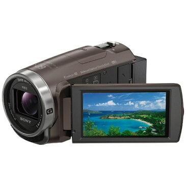 【送料無料】 ソニー SONY 【10%OFFクーポン 8/4 18:00 〜 8/5 23:59】メモリースティックマイクロ/マイクロSD対応 64GBメモリー内蔵 フルハイビジョンビデオカメラ(ブロンズブラウン) HDR-CX680(TI)[HDRCX680TI]