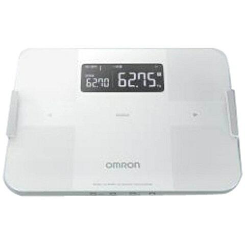 【送料無料】 オムロン OMRON 体重体組成計 「カラダスキャン」 HBF-255T-W ホワイト[HBF255TW]