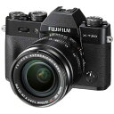 【送料無料】 富士フイルム FUJIFILM FUJIFILM X-T20【レンズキット】(ブラック/ミラーレス一眼カメラ)[FXT20LKB]