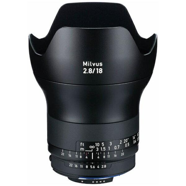 カメラ・ビデオカメラ・光学機器, カメラ用交換レンズ  Carl Zeiss MILVUS 2.818 ZF.2CPUAi-sFMILVUS2818ZF2