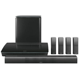BOSE ボーズ ホームシアター home entertainment system ブラック Lifestyle 650 [Wi-Fi対応 /5.1ch /Bluetooth対応][テレビ スピーカー LIFESTYLE650BK] 【代金引換配送不可】