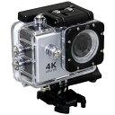 楽天ビック(ビックカメラ×楽天)で買える「SAC エスエーシー AC600 アクションカメラ Silver [4K対応 /防水][AC600S]【0426_rb】」の画像です。価格は9,980円になります。