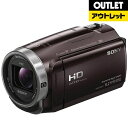 【送料無料】 ソニー 【アウトレット品】メモリースティックマイクロ/マイクロSD対応 32GBメモリー内蔵 フルハイビジョンビデオカメラ(ボルドーブラウン) HDR-CX675(TC)【生産完了品】HDRCX675TC 【kk9n0d18p】