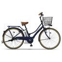 【送料無料】 ヤマハ 26型 電動アシスト自転車 PAS Ami(マットネイビー/内装3段変速) PA26A【2017年モデル】【組立商品につき返品不可】 【代金引換配送不可】