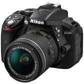 【送料無料】 ニコン D5300【AF-P 18-55 VRレンズキット】(ブラック/デジタル一眼レフカメラ)