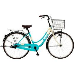 【送料無料】MARUKIN26型自転車ロマーナファッションHD261-J(l-ブルー/シングル)MK-17-004【2017年モデル】【組立商品につき返品】【配送】【メーカー直送・・時間指定・返品】