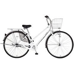 【送料無料】 MARUKIN 27型 自転車 レイニープレミアC273-J(ホワイト/内装3段変速) MK-17-018【2017年モデル】【組立商品につき返品】 【配送】【メーカー直送・・時間指定・返品】