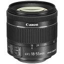 キヤノン CANON カメラレンズ EF-S 18-55mm F4-5.6 IS STM【キヤノンEFマウント(APS-C用)】[EFS1855F456ISSTM]