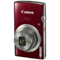 【2017年02月23日発売】【送料無料】キヤノンコンパクトデジタルカメラIXY(イクシー)200(レッド)