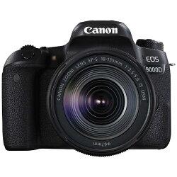 【2017年04月発売】【送料無料】キヤノンEOS9000D(W)【EF-S18-135ISUSMレンズキット】/デジタル一眼レフカメラ