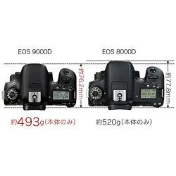 【2017年04月上旬発売】【送料無料】キヤノンEOS9000D(W)【EF-S18-135ISUSMレンズキット】/デジタル一眼レフカメラ