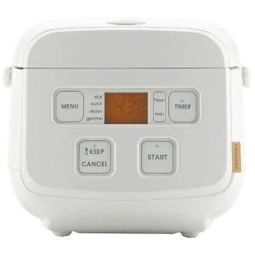 TAGlabel by amadana タグレーベル バイ アマダナ マイコン炊飯ジャー rice cooker AT-RM11(W) ホワイト [3合 /マイコン]【ビックカメラグループオリジナル】[ATRM11W]