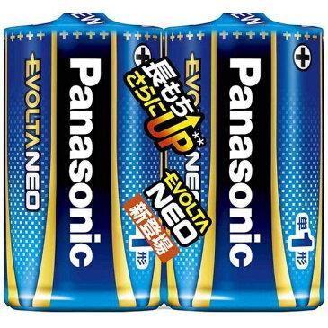 パナソニック Panasonic LR20NJ/2SE 単1電池 EVOLTANEO(エボルタネオ) [2本 /アルカリ][LR20NJ2SE] panasonic