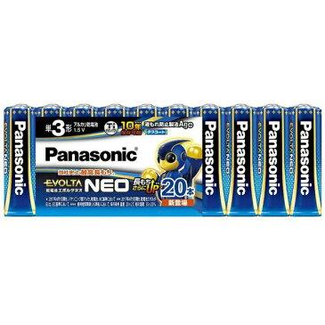 パナソニック Panasonic LR6NJ/20SW 単3電池 EVOLTANEO(エボルタネオ) [20本 /アルカリ][LR6NJ20SW] panasonic