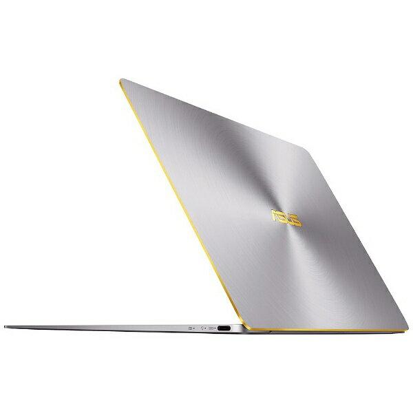 ZenBook 3 グレー ノートパソコン ASUS UX390UA-256GGR [12.5インチ・Core i5・メモリ 8GB・SSD 256GB] 【送料無料】