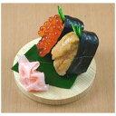 末武サンプル スマートフォン用食品サンプル スマホスタンドにぎりウニ・イクラSUETAKE1067