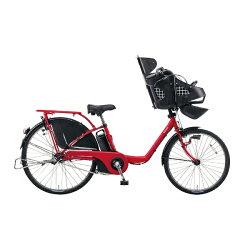 【送料無料】パナソニック22/26型電動アシスト自転車ギュット・DX(ロイヤルレッド/内装3段変速)BE-ELMD633R2【2017年モデル】【組立商品につき返品】【配送】