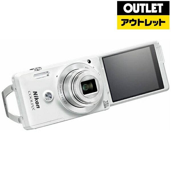 ニコン 限定2台【アウトレット品】コンパクトデジタルカメラ COOLPIX(クールピクス) S6900(ナチュラルホワイト)【生産完了品】S6900WH 【kk9n0d18p】:ビックカメラ