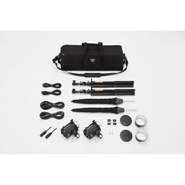 コメット モノブロックストロボ TWINKLE02-RSアンブレラ2灯セット TW-02RS-2US:ビックカメラ