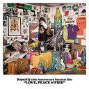 ワーナーミュージックジャパン Superfly/Superfly 10th Anniversary Greatest Hits『LOVE, PEACE & FIRE』 初回限定盤 【CD】