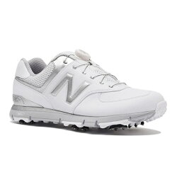 【送料無料】ニューバランスメンズゴルフシューズMGB574(26.5cm/ホワイト×シルバー)MGB574