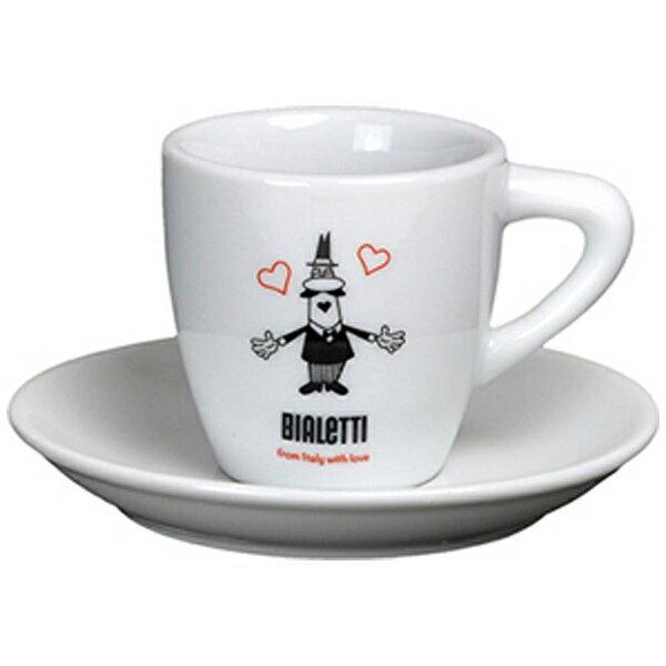 ビアレッティ カップ&ソーサー オミーノ ハート OM2270