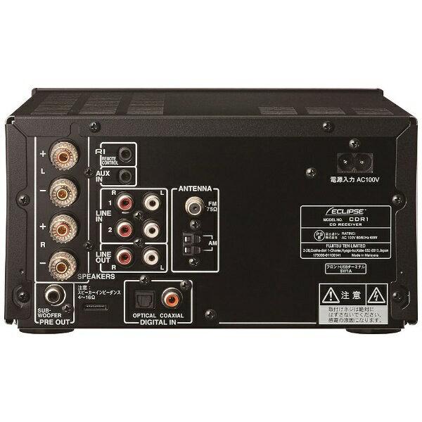 富士通テン CDレシーバースピーカーパック CDR1+508パックBK(スピーカー2本/ブラック)