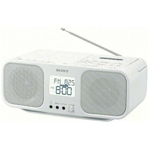 オーディオ, ラジカセ  SONY CD CFD-S401(W) FM CD cd CFDS401WC