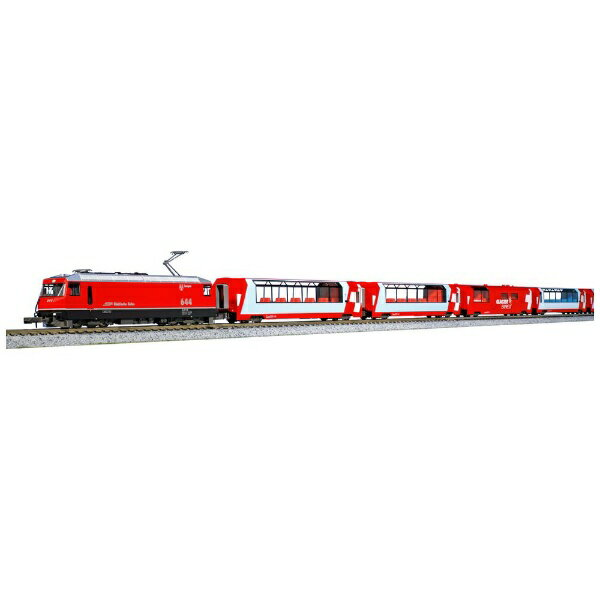 【2021年6月】 KATO カトー 【再販】【Nゲージ】10-1413 アルプスの赤い客車 EWI 基本セット(4両)【発売日以降のお届け】