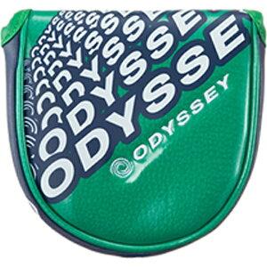 キャロウェイ ヘッドカバー Odyssey Snazz Neo Mallet Putter Cover 17 JM(パター用/グリーン) 5517101