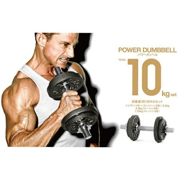 LAVIE 健康グッズ パワーダンベル 10kgセット 3B-3490