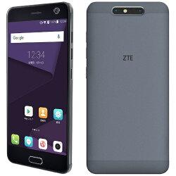 【楽天】【あす楽対象】【送料無料】 ZTE Blade V8 ミッドナイトグレー 「BLADEV8MGY」 Android 7.0・5.2型・メモリ/ストレージ:3GB/32GB nanoSIMx1 nanoSIM or micro SDx1 SIMフリースマートフォン