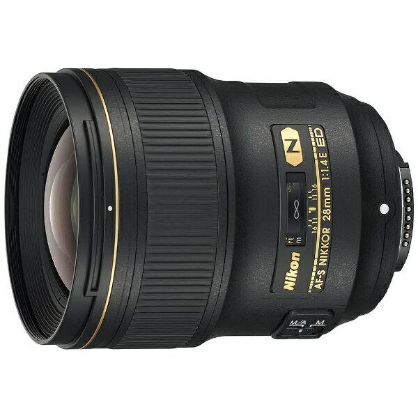 カメラ・ビデオカメラ・光学機器, カメラ用交換レンズ  Nikon AF-S NIKKOR 28mm f1.4E ED NIKKOR F AFS2814E