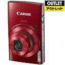 【送料無料】 キヤノン CANON 【アウトレット品】コンパクトデジタルカメラ IXY(イクシー) 190(レッド)【生産完了品】IXY190RE【kk9n0d18p】