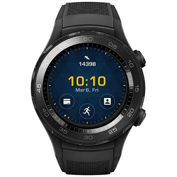 【送料無料】「HUAWEI WATCH 2」 Sport/non-4G/LEO-B09 Carbon Black