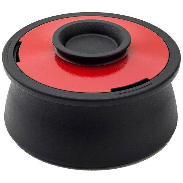 穴織カーボン ≪IH対応≫ カーボン製両手鍋 「POT VOL.」(2.1L) VO001IR イタリアンレッド:ビックカメラ