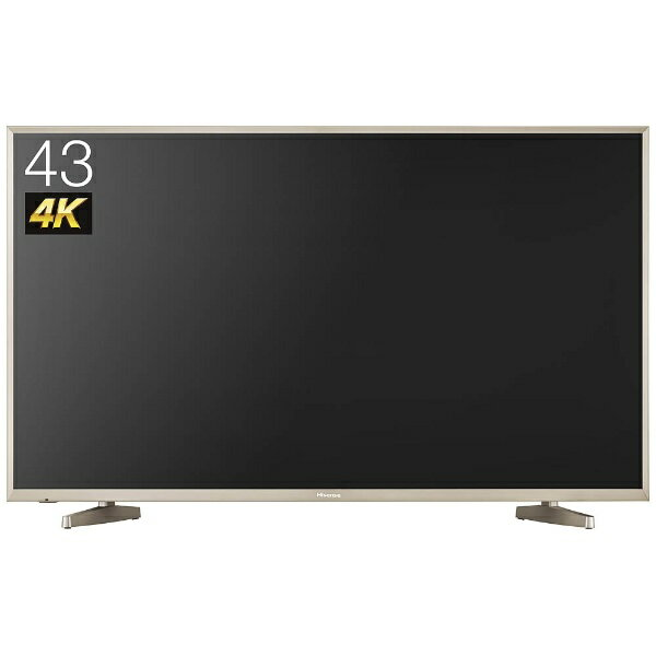 ハイセンス 43V型 地上・BS・110度CSチューナー内蔵 4K対応液晶テレビ HJ43N5000 (別売USB HDD録画対応):ビックカメラ