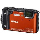 【送料無料】 ニコン 防水コンパクトデジタルカメラ COOLPIX(クールピクス) W300(オレンジ)