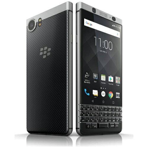 ブラックベリー KEYone ブラック/シルバー 「BBB100-6」 Android 7.1.1・4.5型・メモ...
