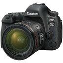 【送料無料】 キヤノン CANON EOS 6D Mark II(WG)【EF24-70L IS USM レンズキット】/デジタル一眼レフカメラ