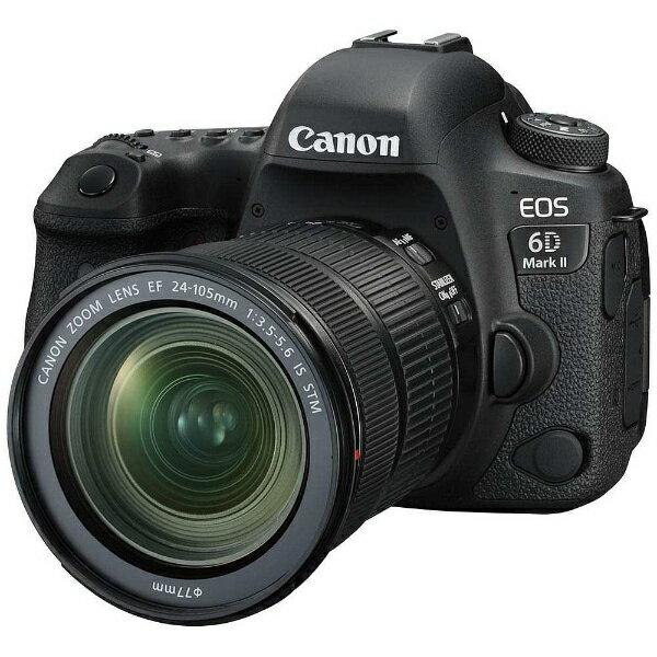 デジタルカメラ, デジタル一眼レフカメラ  CANON EOS 6D Mark II EF24-105 IS STM Mark2 EOS6DMK224105ISSTMLK